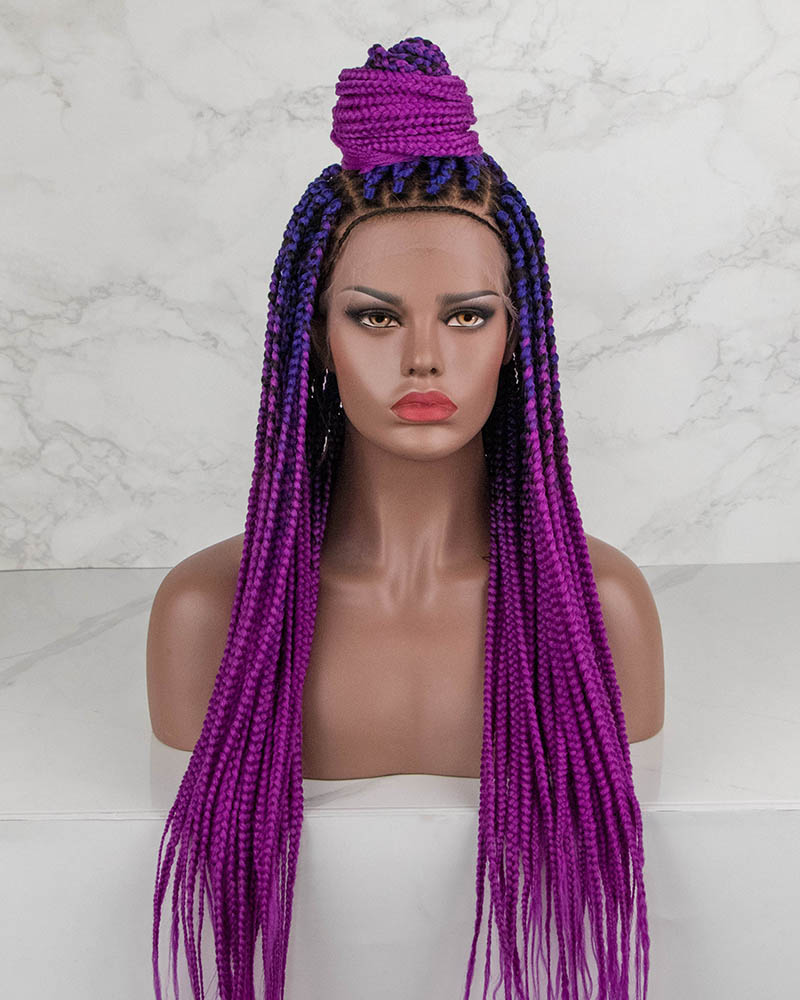 Grace - Box Braided Wig