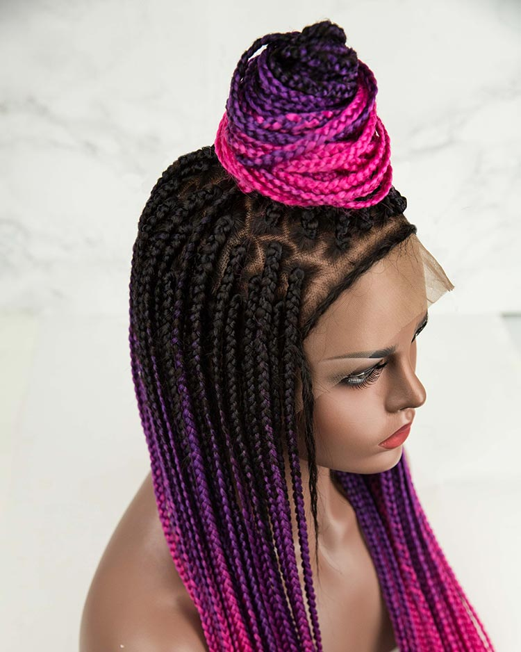 Queen - Box Braided Wig