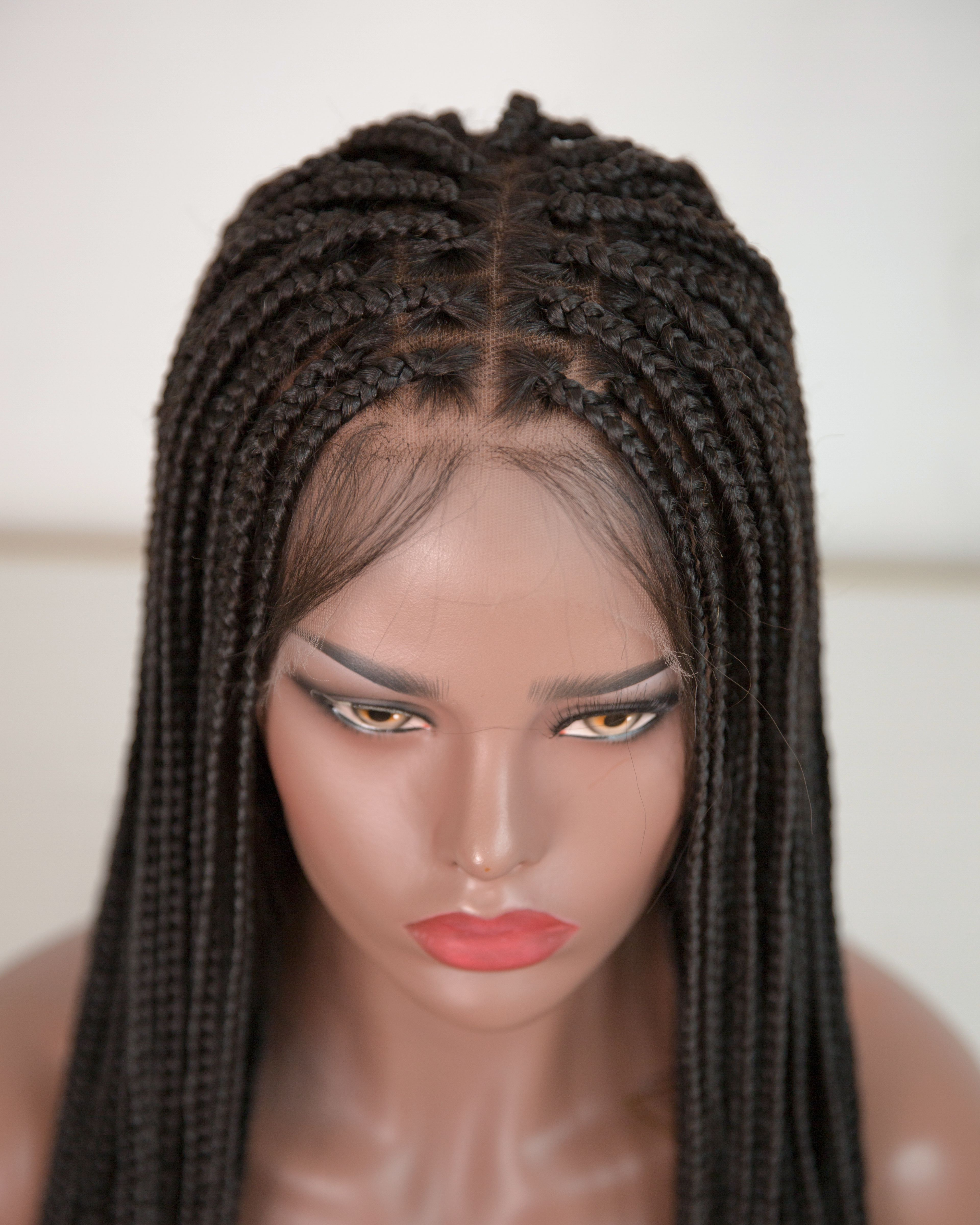 Nikki - Knotless Box Braided Wig