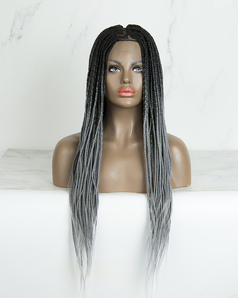 Snow - Box Braided Wig