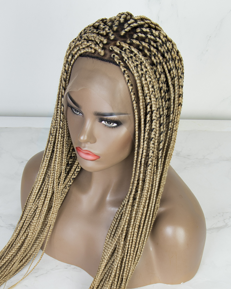 Aisha - Box Braided Wig