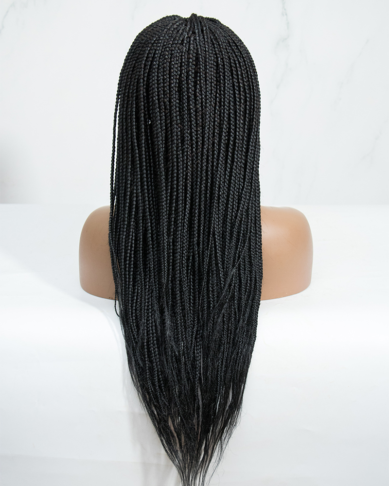 Ava - Box Braided Wig (Lace Front Wig)