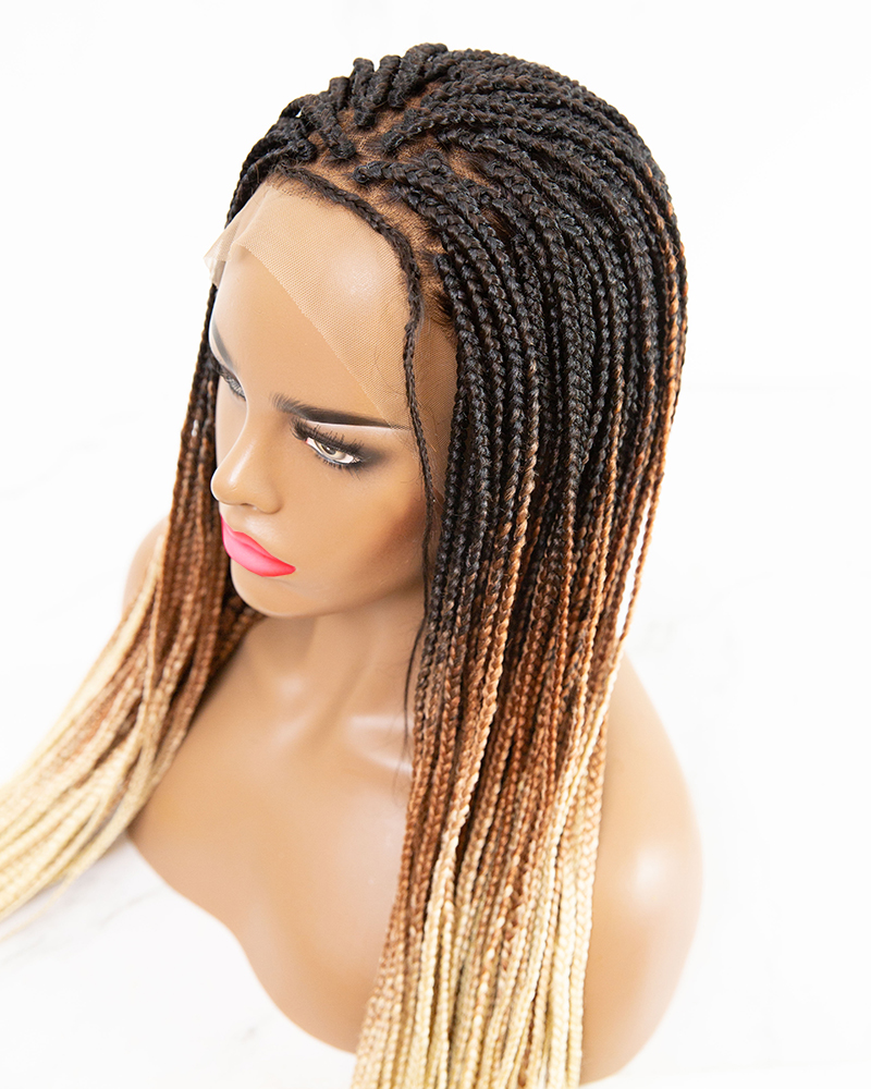 Aria - Box Braided Wig (Lace Front Wig)
