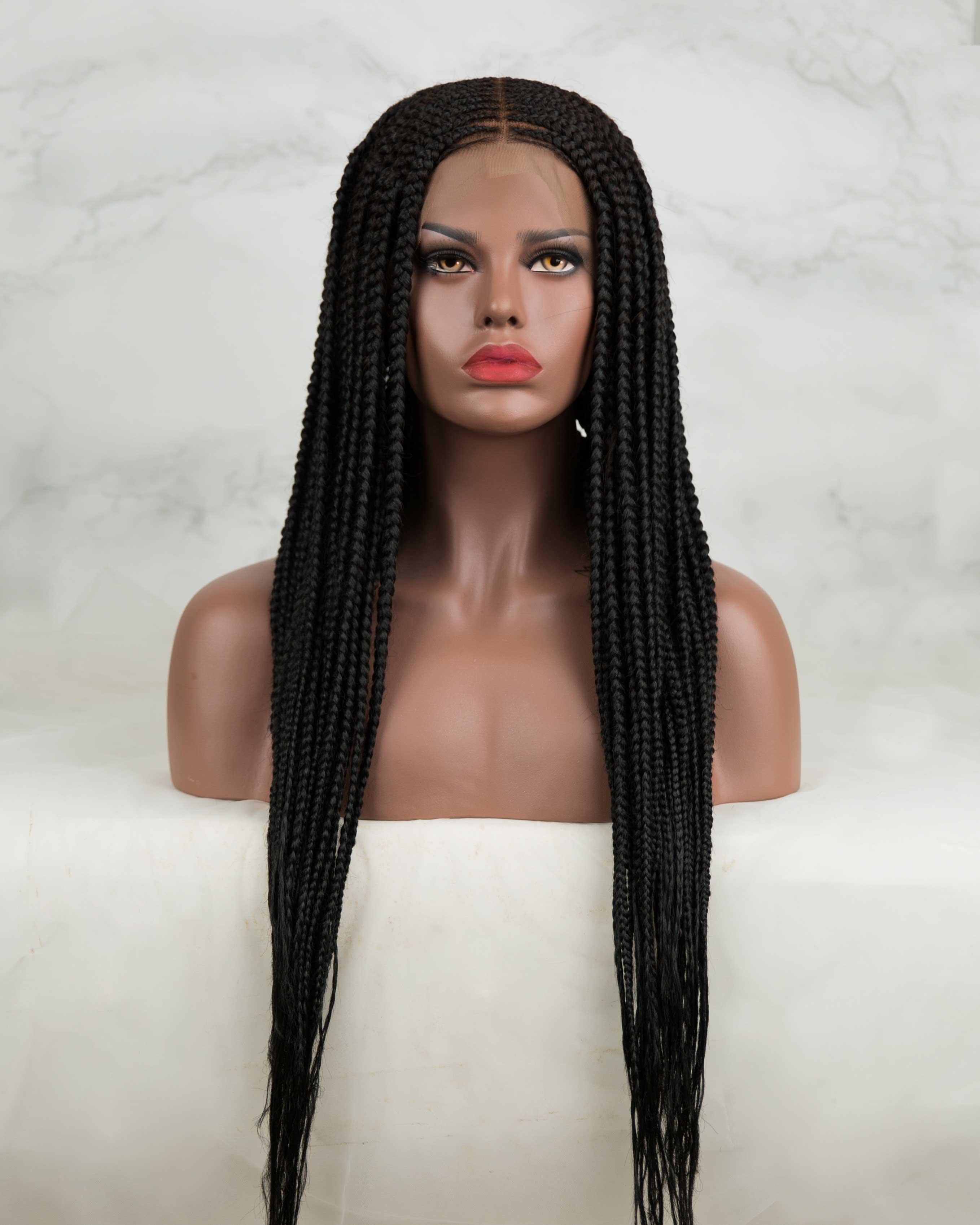 Tora -Cornrow Braided Wig