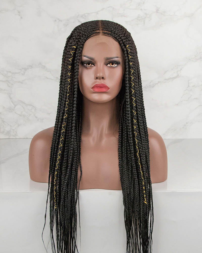 Sonya -Cornrow Braided Wig