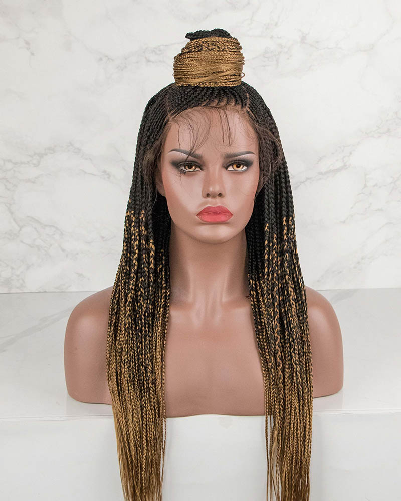 Linda -Cornrow Braided Wig