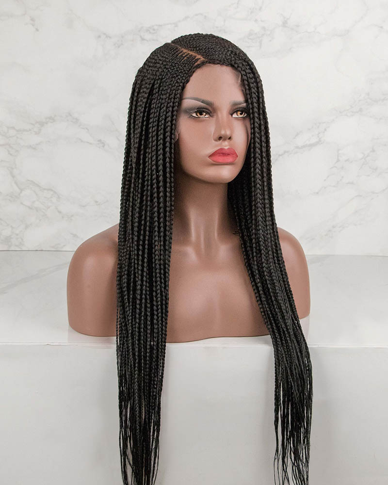 Jennifer -Cornrow Braided Wig